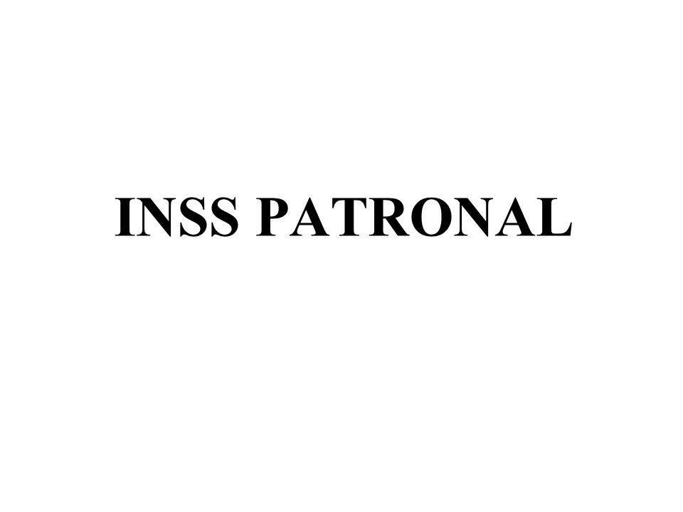 INSS PATRONAL