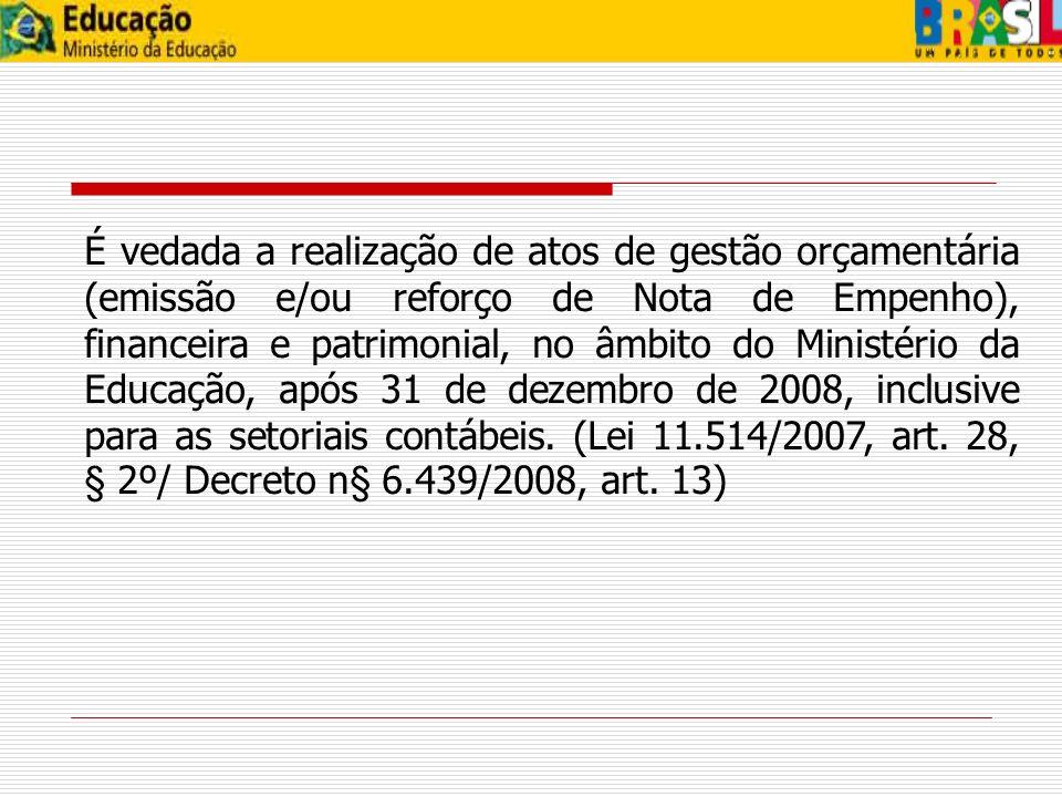 CONFORMIDADE DOS REGISTROS DE GESTÃO 4 -Conferir demonstrativos referidos no art.