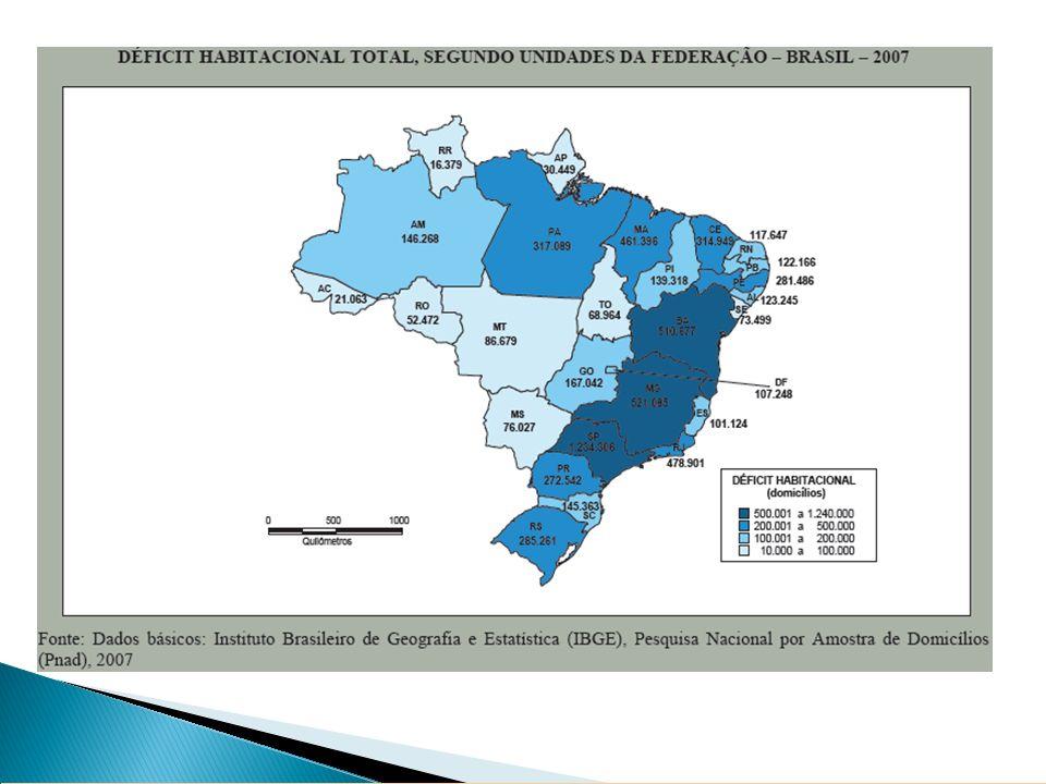até 3 sm 3 a 5 sm 5 a 10 sm acima de 10 sm sem declaração Fonte: Mcidades /Fundação João Pinheiro, 2005.