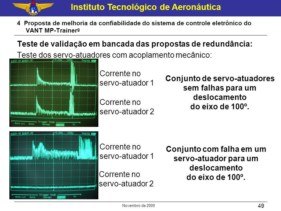 Instituto Tecnológico de Aeronáutica Novembro de 2009 49 4 Proposta de melhoria da confiabilidade do sistema de controle eletrônico do VANT MP-Trainer