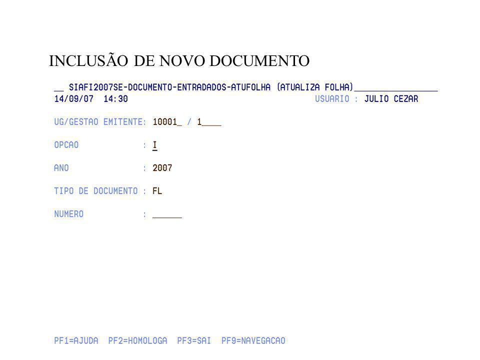 NOTA DE SISTEMA GERADA
