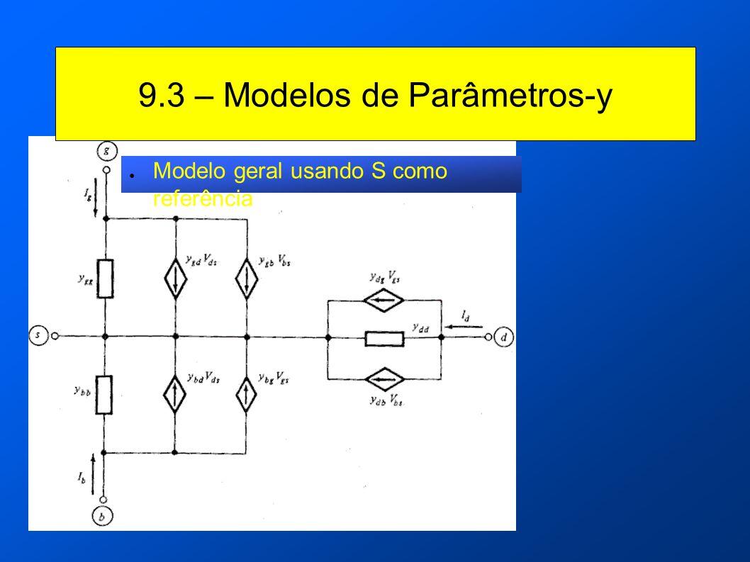 9.3 – Modelos de Parâmetros-y Modelo geral usando S como referência