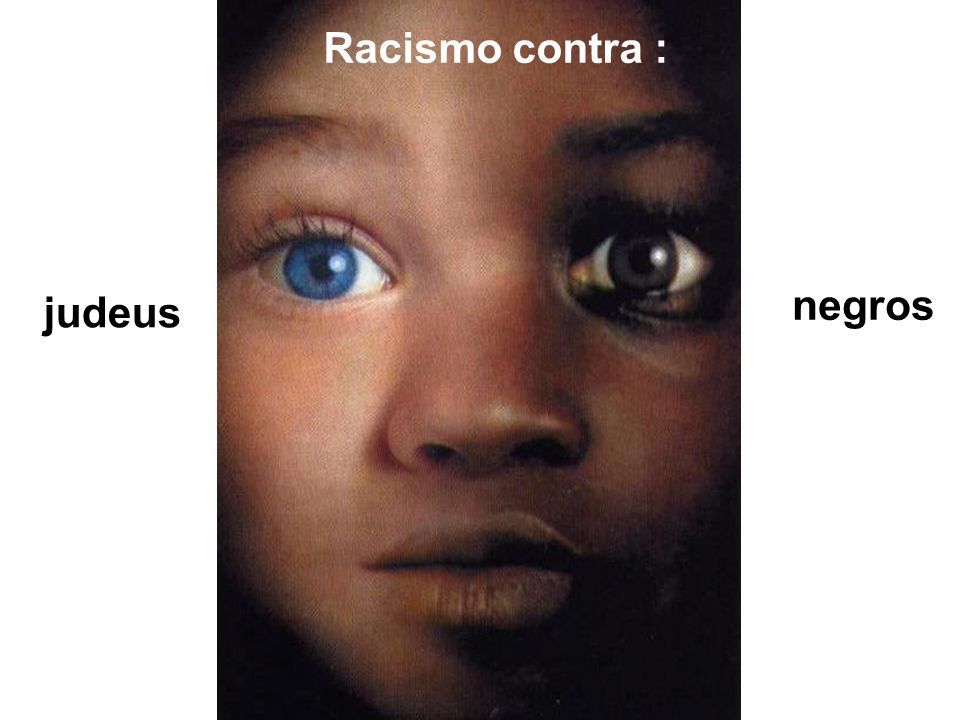 Racismo contra : judeus negros