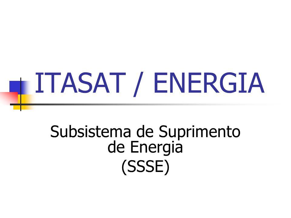 ITASAT / ENERGIA Subsistema de Suprimento de Energia (SSSE)