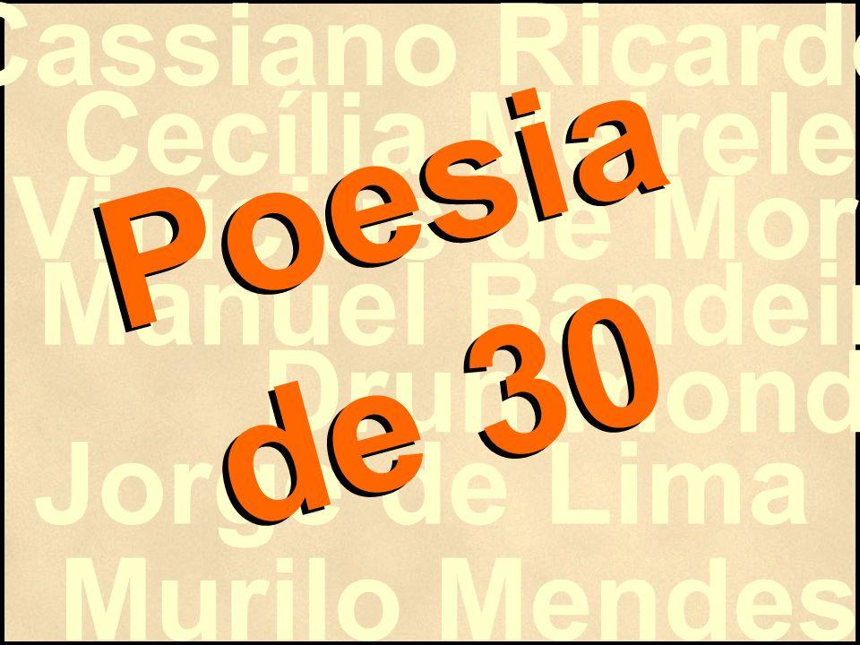 POESIA REGIONAL Problemas sociais nordestinos.Vinculação com o romance regionalista.