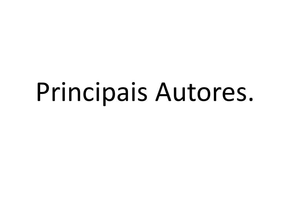 Principais Autores.