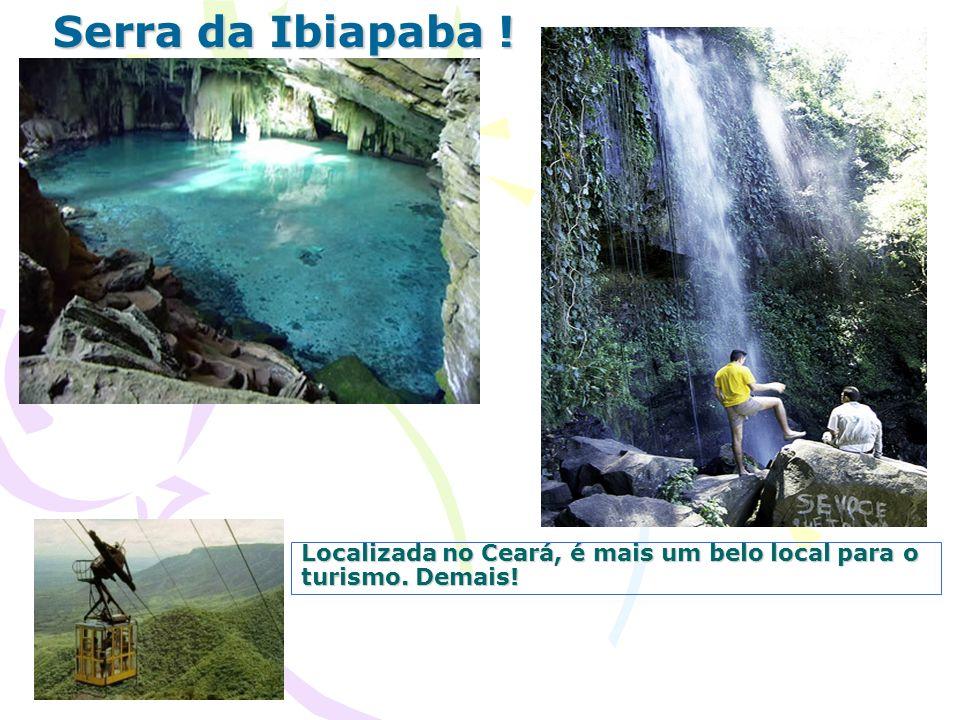 Localizada no Ceará, é mais um belo local para o turismo. Demais! Serra da Ibiapaba !