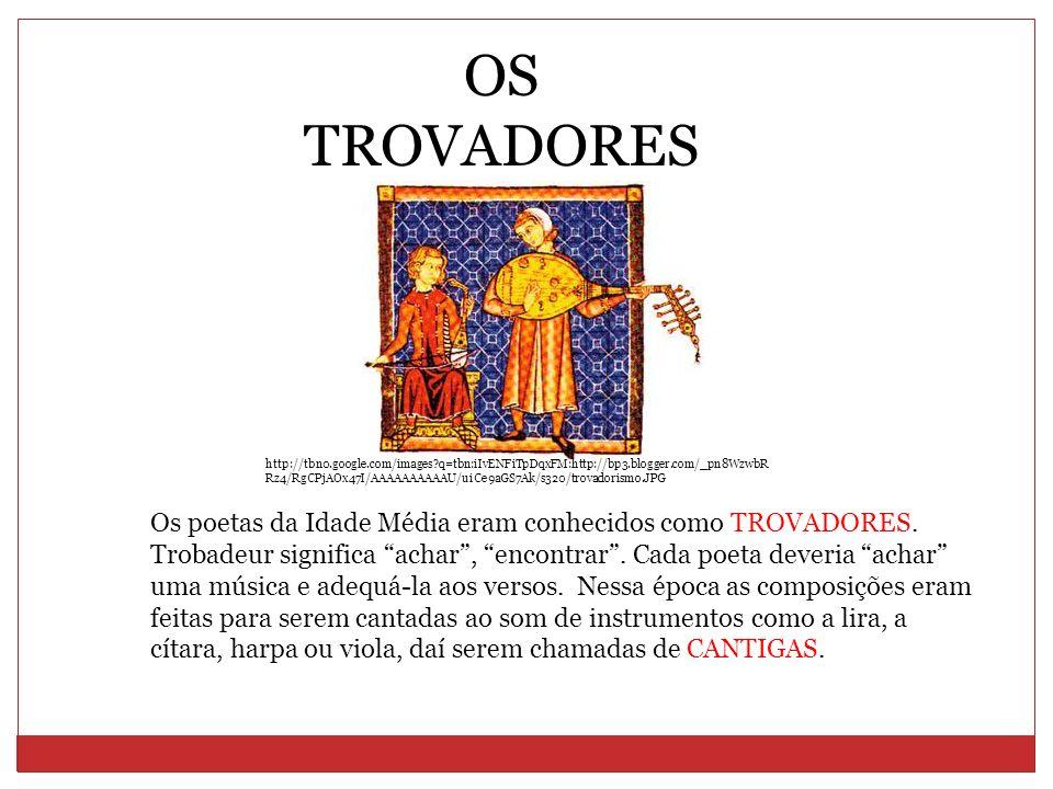 Os artistas medievais eram classificados como: Trovador Nobre, não recebia por suas funções.
