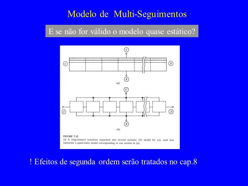 Modelo de Multi-Seguimentos .