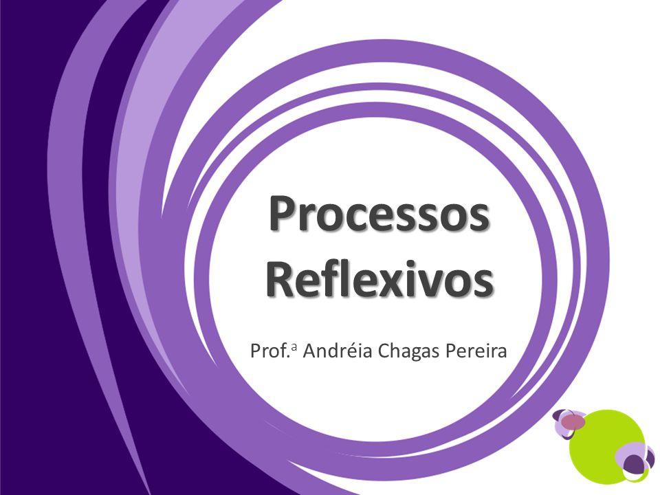 Processos Reflexivos Prof. a Andréia Chagas Pereira