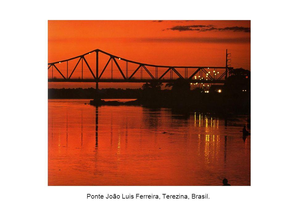 Ponte João Luis Ferreira, Terezina, Brasil.