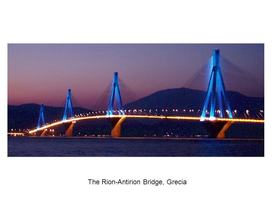 The Rion-Antirion Bridge, Grecia