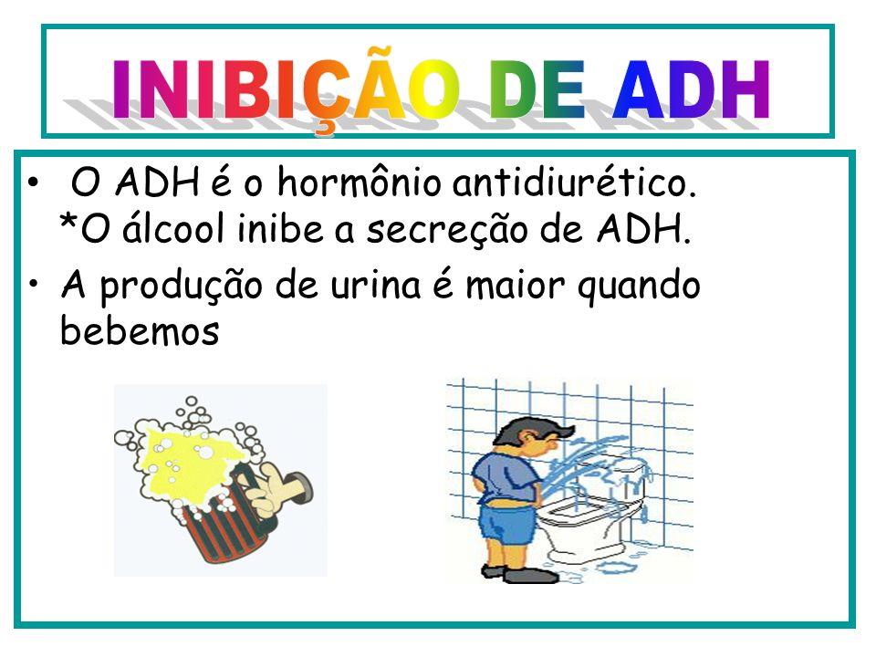 O que é Carências na síntese do chamado hormônio antidiurético, ADH ou vasopressina, ou a um bloqueio de sua ação.