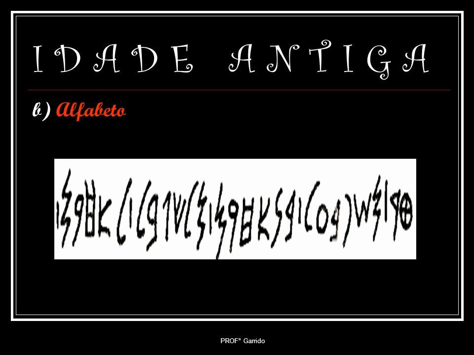 PROF° Garrido I D A D E A N T I G A 7.4- Fenícia a) Navegação