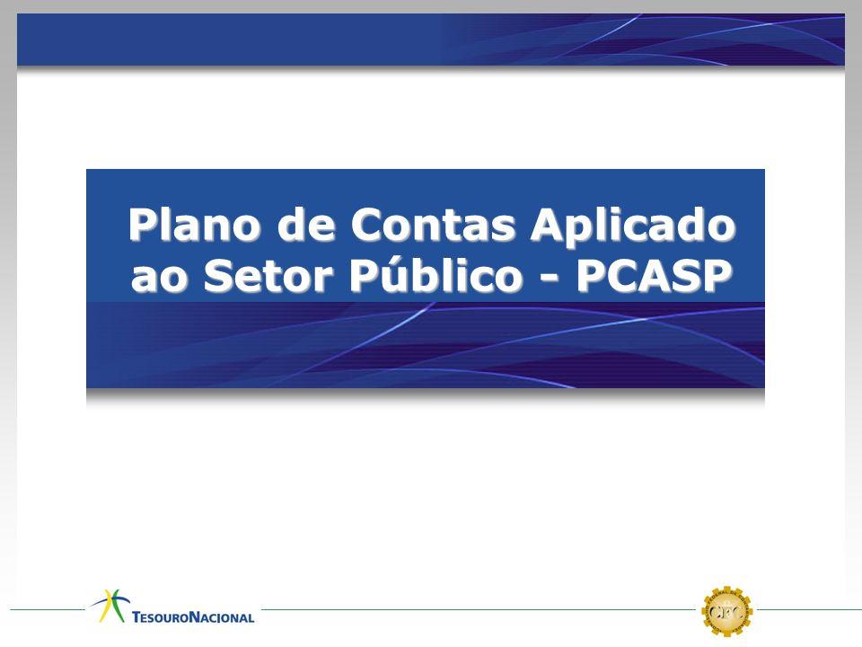 Plano de Contas Aplicado ao Setor Público - PCASP