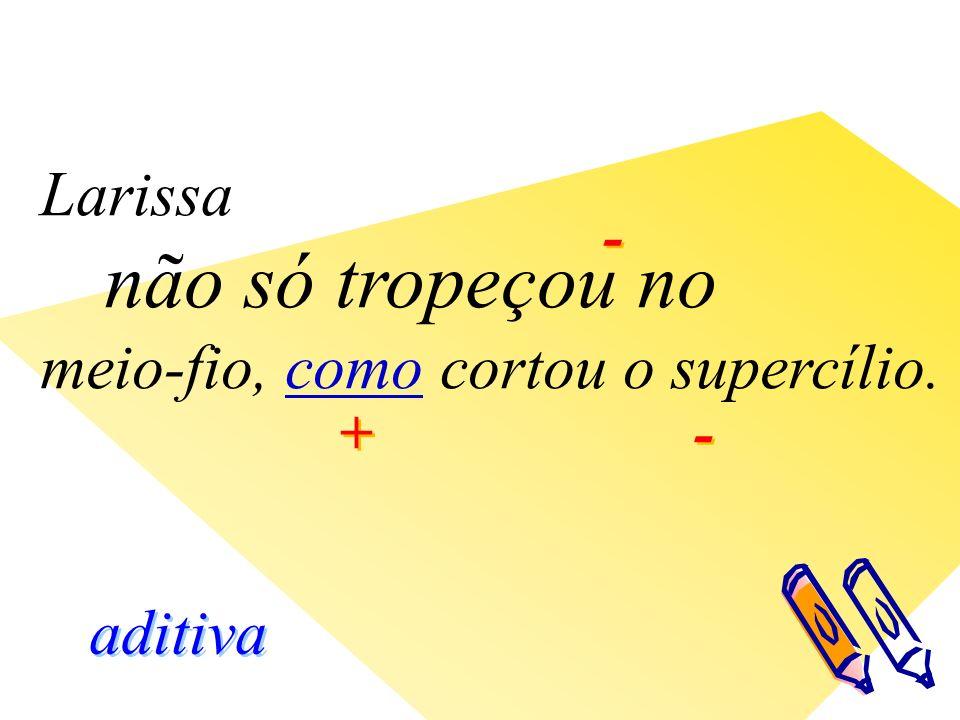 - - aditiva + + - -