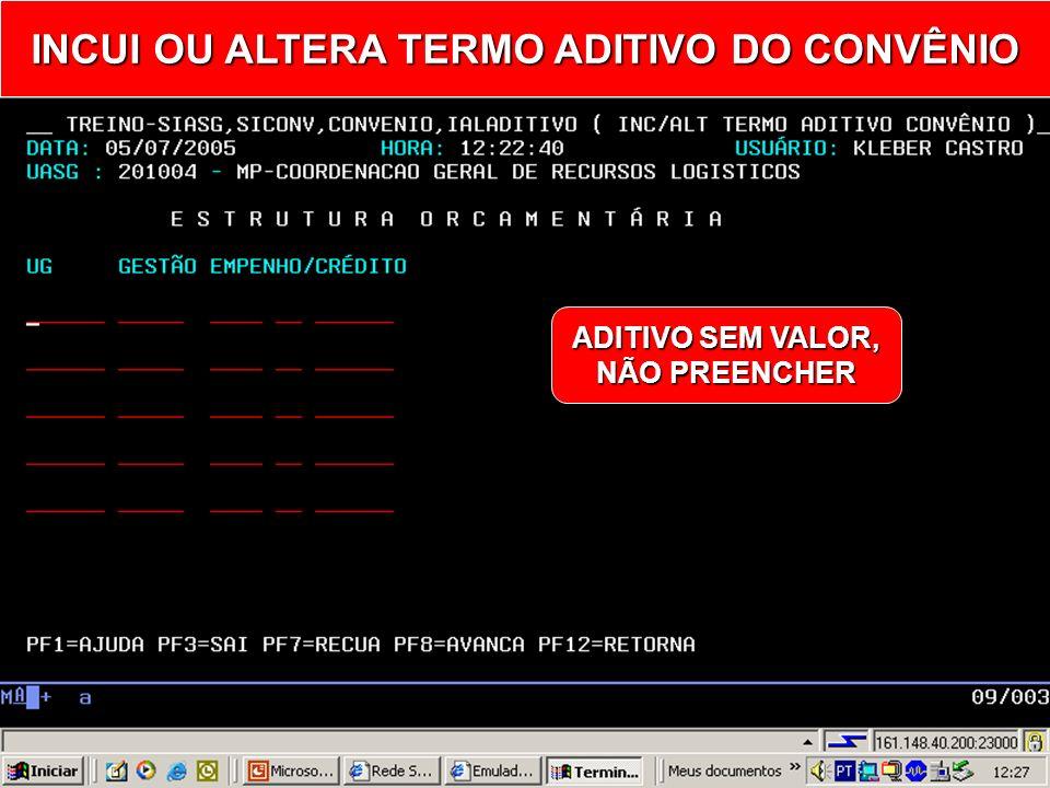 + ACRÉSCIMO - SUPRESSÃO