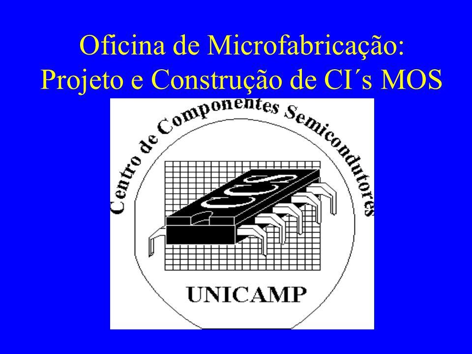 Temas Seminários: –Conceitos de Semicondutores –Teoria de Dispositivos –Conceitos de Processos de Fabricação –Projeto de Processo e Dispositivo –Projeto de CI´s –Microssistemas CAD –Simulação de Processos e Dispositivos –Projeto de CI´s