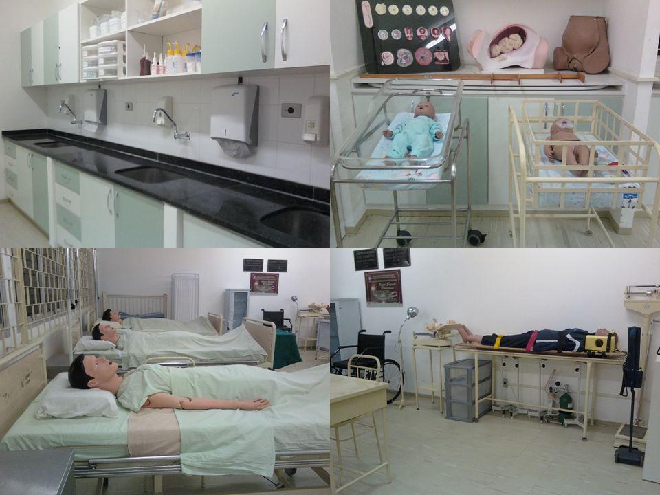 Tabela 9 - Opinião dos alunos do Curso de Enfermagem da UFAL sobre locais onde as experiências práticas de gerenciamento de materiais podem ser realizadas, além do laboratório de enfermagem, segundo a série.