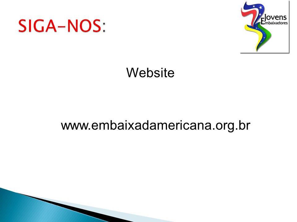 Website www.embaixadamericana.org.br