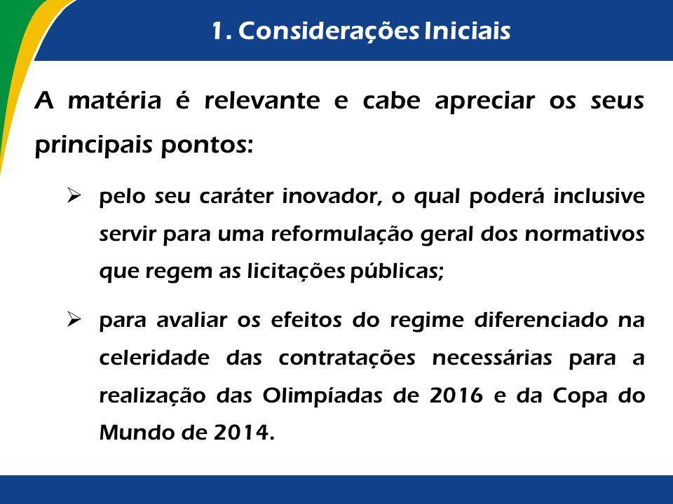 4.3.Critérios de Julgamento (arts.