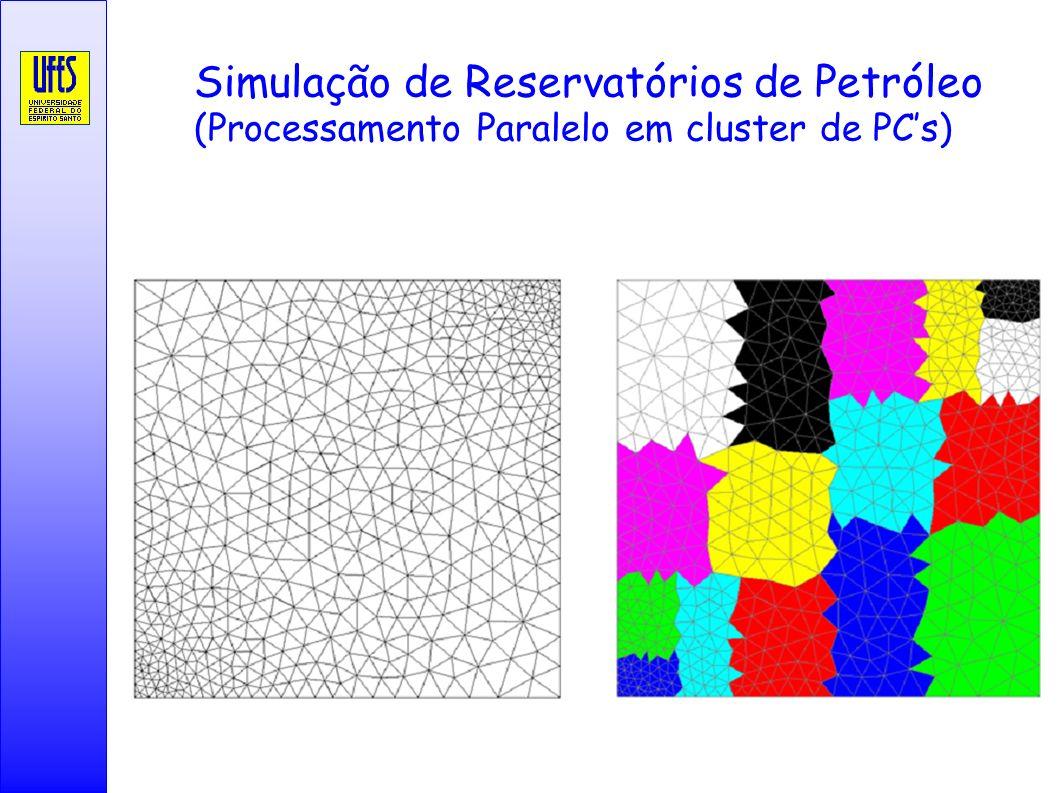 Simulação de Reservatórios de Petróleo (Processamento Paralelo em cluster de PCs)