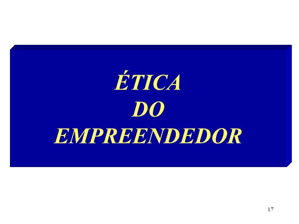 17 ÉTICA DO EMPREENDEDOR