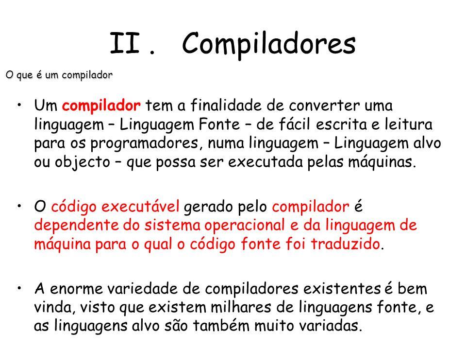 O nome compilador, criado nos anos 50, faz referência ao processo de composição de um programa pela reunião de várias rotinas de biblioteca; o process