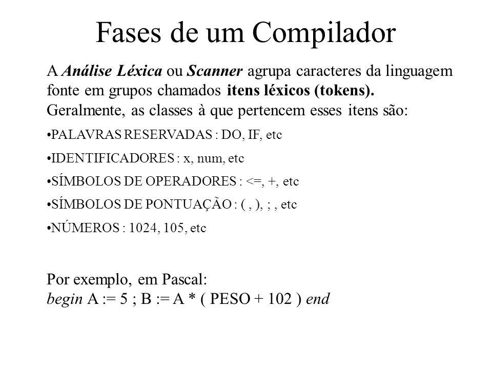 II. Compiladores Os compiladores e os autómatos Os compiladores têm como base os autómatos. Dentro da área de Teoria das Linguagens Formais, encontram