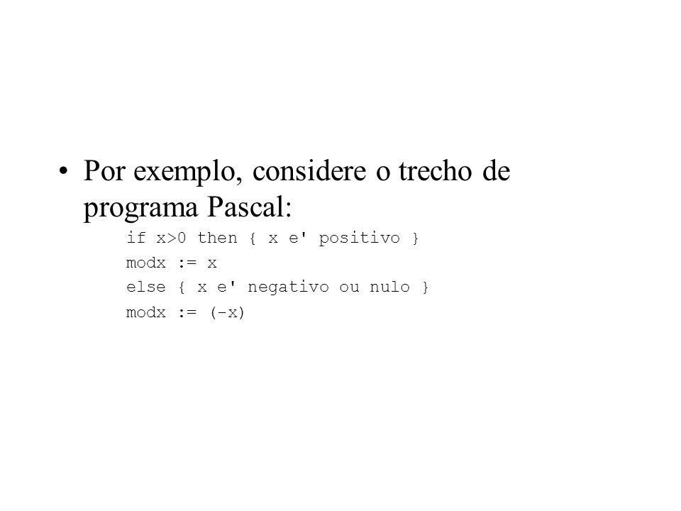 Fases de um Compilador A Análise Léxica ou Scanner agrupa caracteres da linguagem fonte em grupos chamados itens léxicos (tokens). Geralmente, as clas