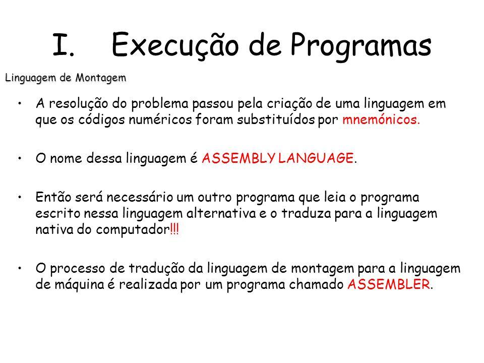 A resolução do problema passou pela criação de uma linguagem em que os códigos numéricos foram substituídos por mnemónicos.