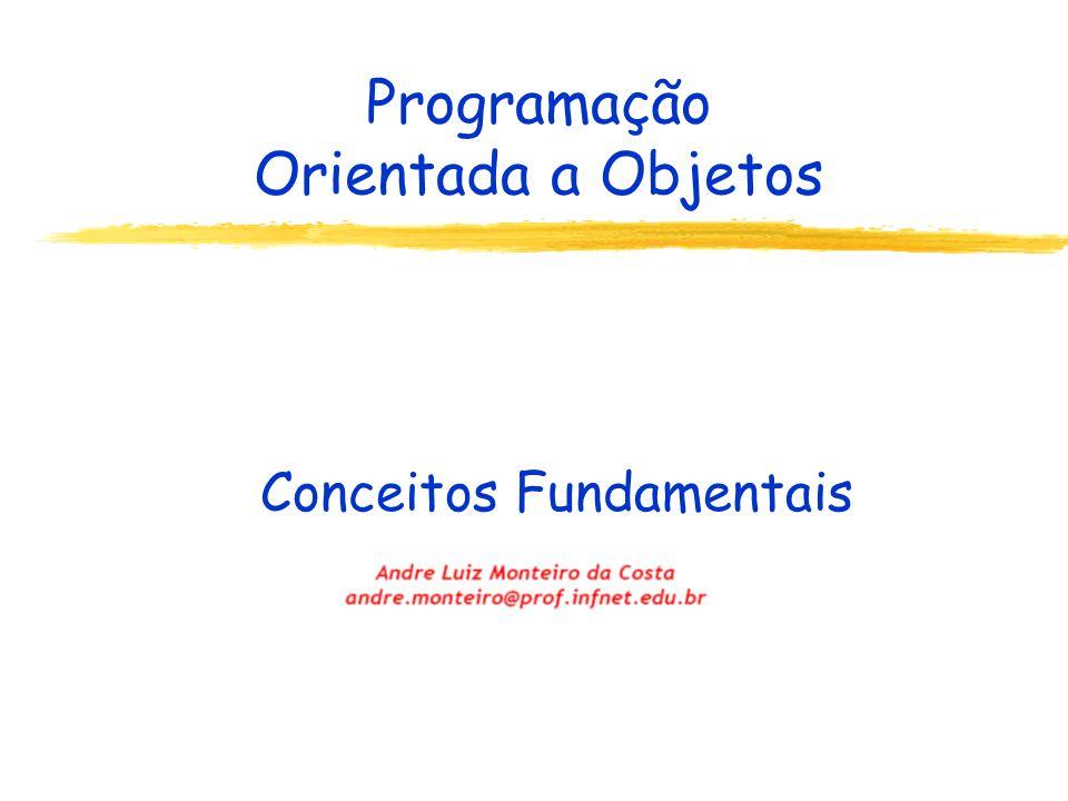 Programação Orientada a Objetos Conceitos Fundamentais