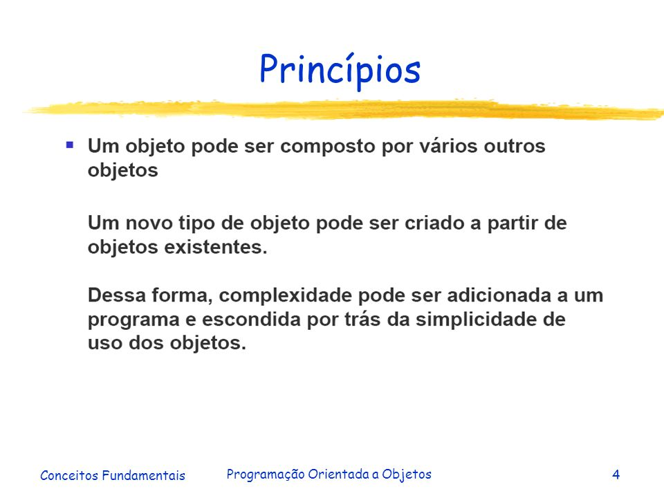 Conceitos Fundamentais Programação Orientada a Objetos15 Classe