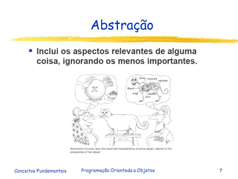 Conceitos Fundamentais Programação Orientada a Objetos8 Objeto