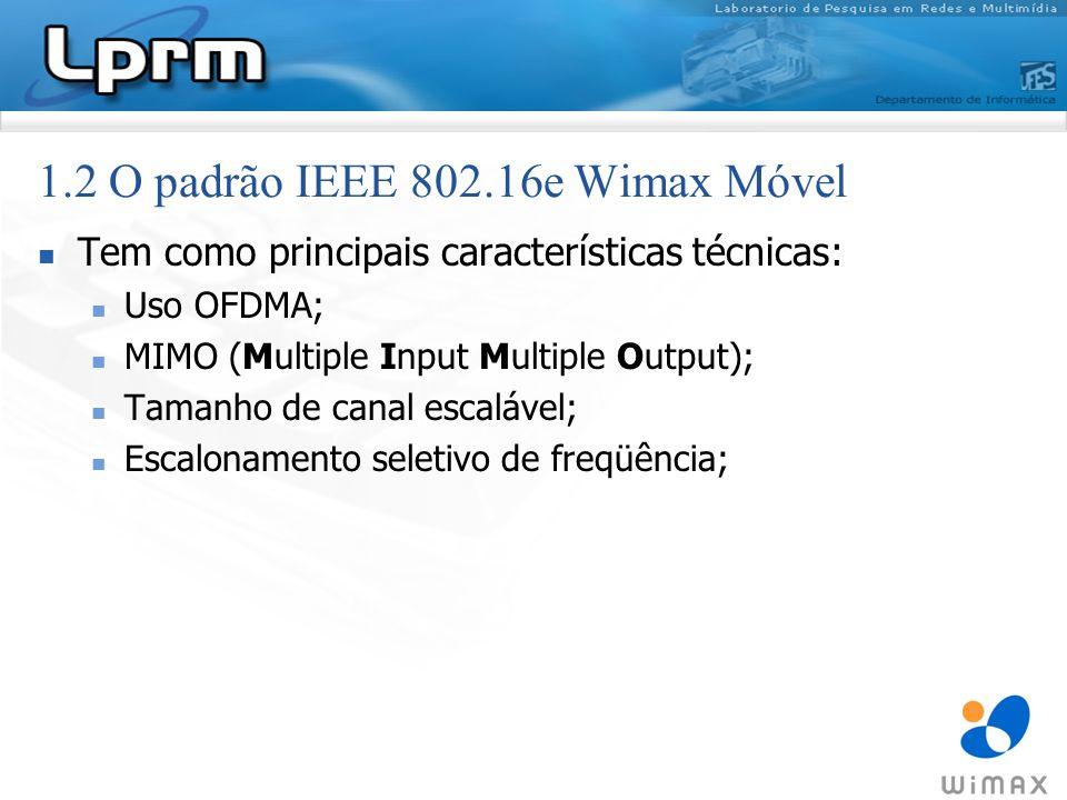 Tem como principais características técnicas: Uso OFDMA; MIMO (Multiple Input Multiple Output); Tamanho de canal escalável; Escalonamento seletivo de