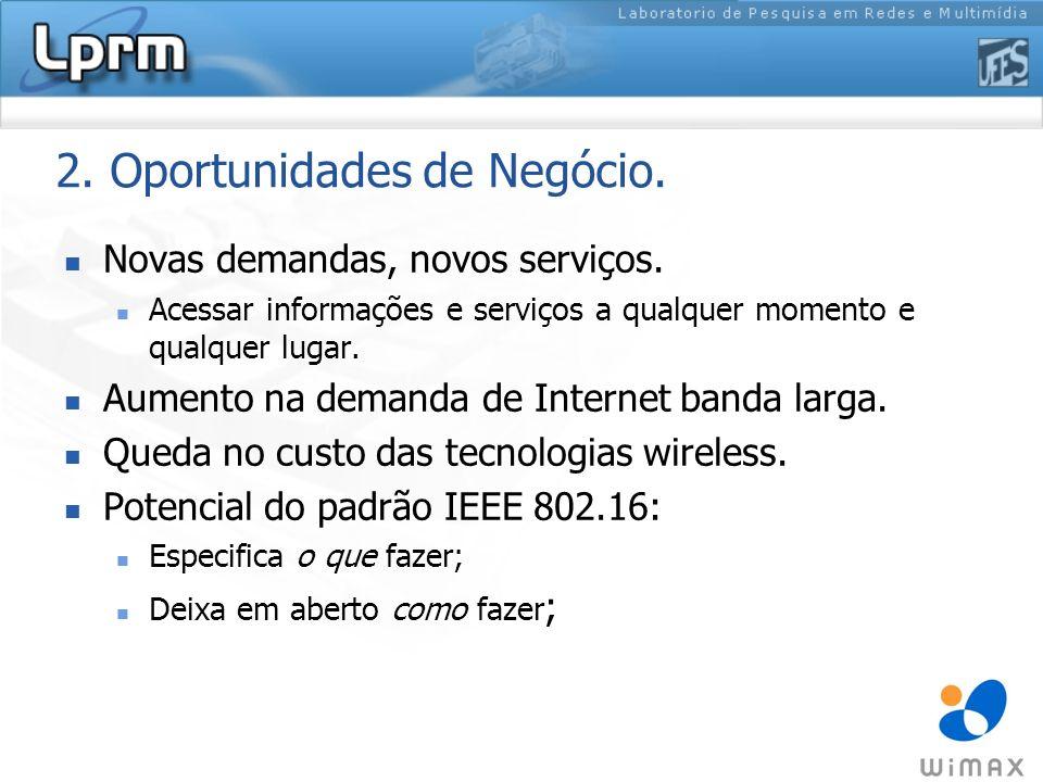 6.Desafios (cont.) Novos Serviços sobre Redes Mesh: Telefonia IP.