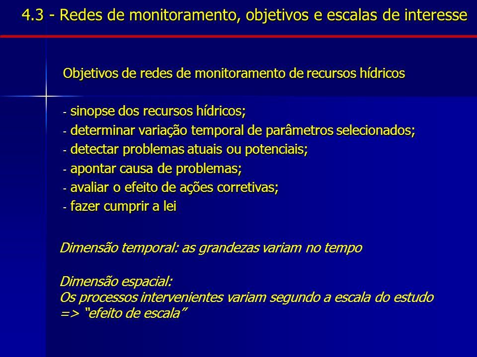 4.4 - Medidas e equipamentos - quantidade de água UMIDADE DO SOLO - Método gravimétrico - Condutividade de bloco poroso EVAPORAÇÃO E EVAPOTRANSPIRAÇÃO - Evaporímetros - Tanques evaporimétricos INFILTRAÇÃO - Infiltrômetro