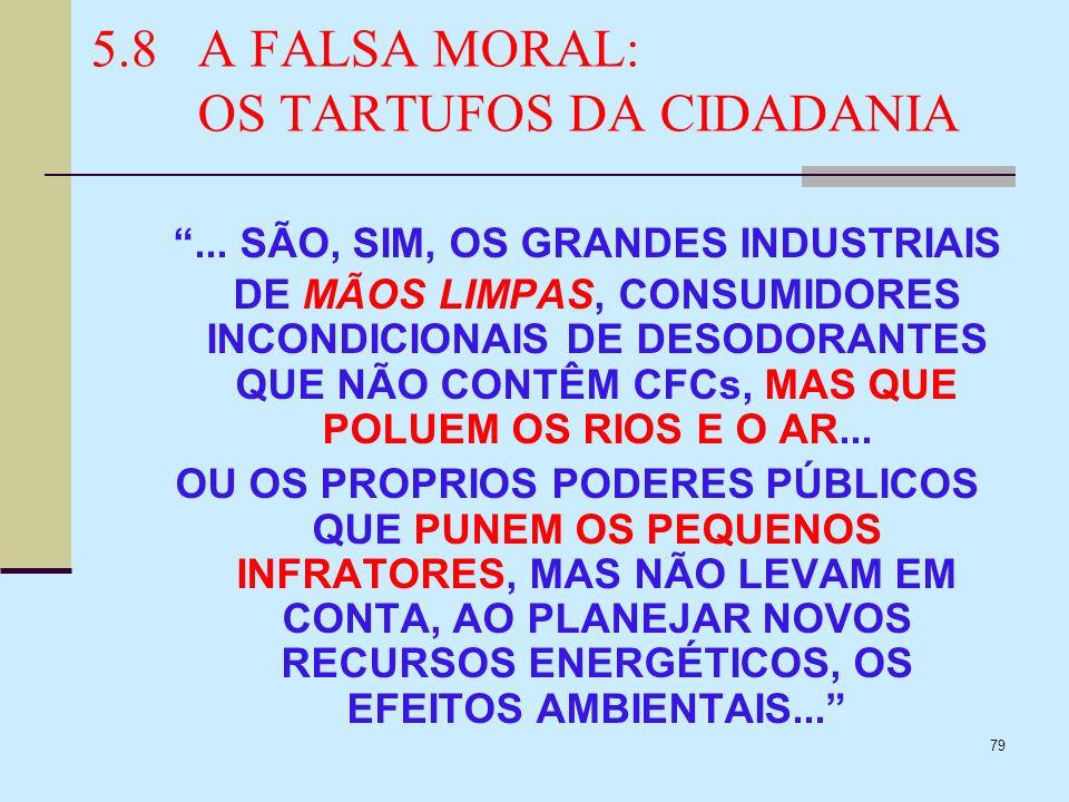 79 5.8A FALSA MORAL: OS TARTUFOS DA CIDADANIA... SÃO, SIM, OS GRANDES INDUSTRIAIS DE MÃOS LIMPAS, CONSUMIDORES INCONDICIONAIS DE DESODORANTES QUE NÃO