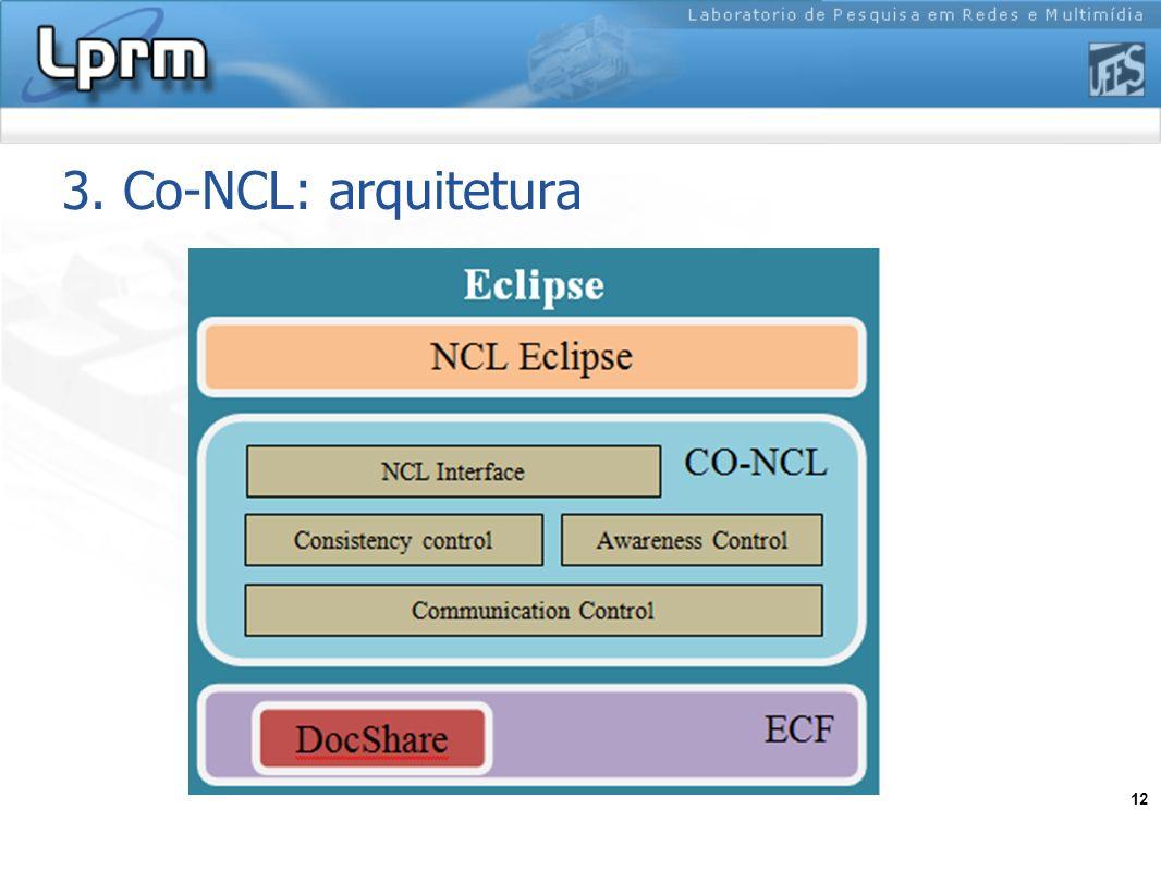 12 3. Co-NCL: arquitetura