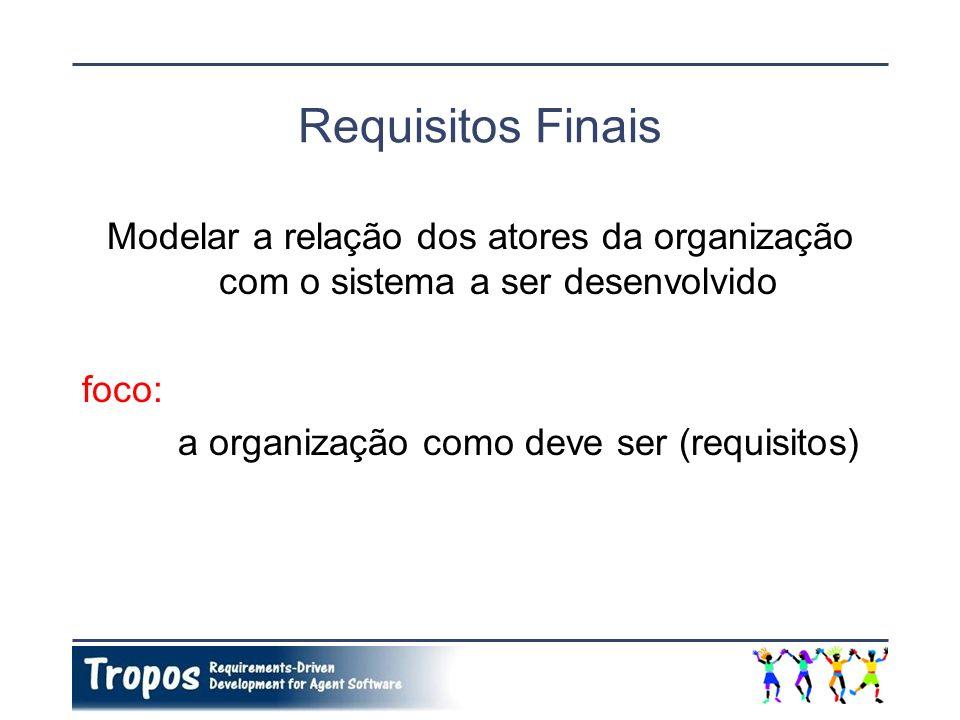 Questões de Ordenação e Cardinalidade Não há ordenação na execução de objetivos/planos decompostos ou ligados a partir de uma ligação meio-fim.