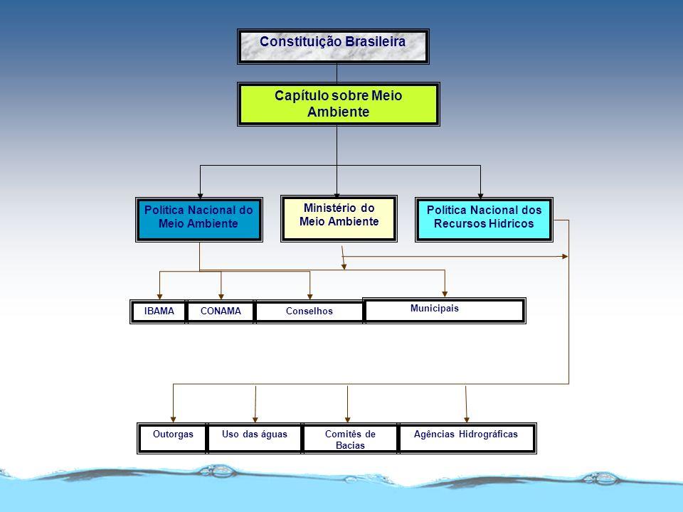 Qualidade de Águas Legislação Ambiental CONAMA 20/86 Captação e Águas CONAMA 274/2000Recreacionais MS - 36/90 Distribuição 1469/2000(potabilidade) 0MS
