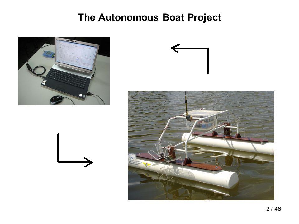 3 / 46 The Autonomous Boat Project