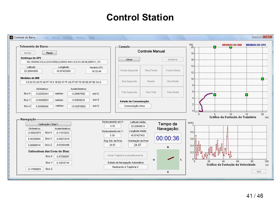 41 / 46 Control Station