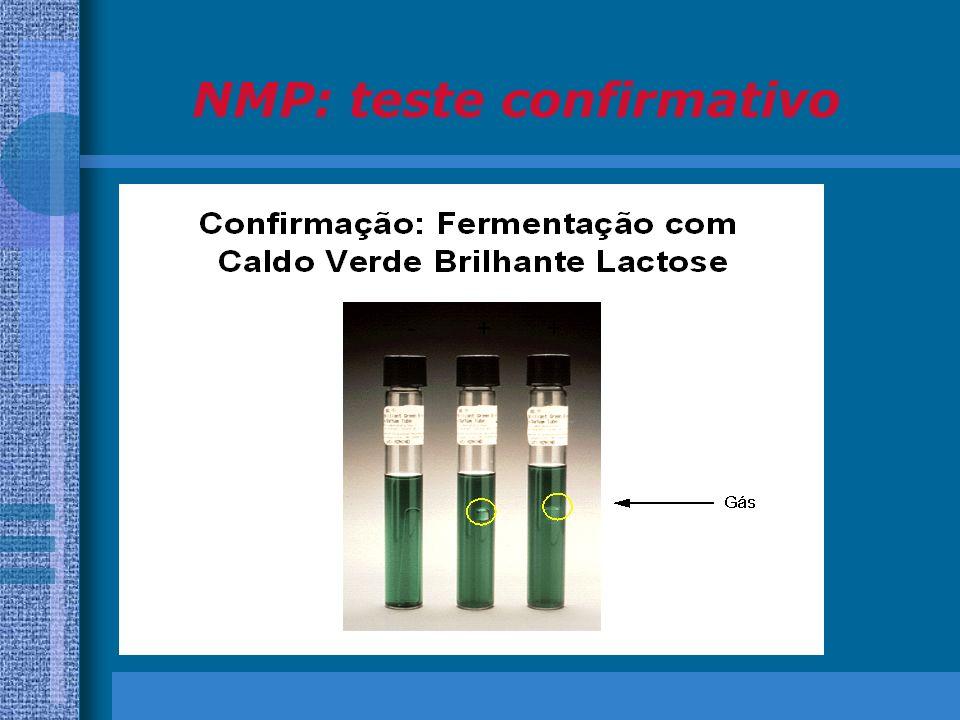 NMP: teste confirmativo