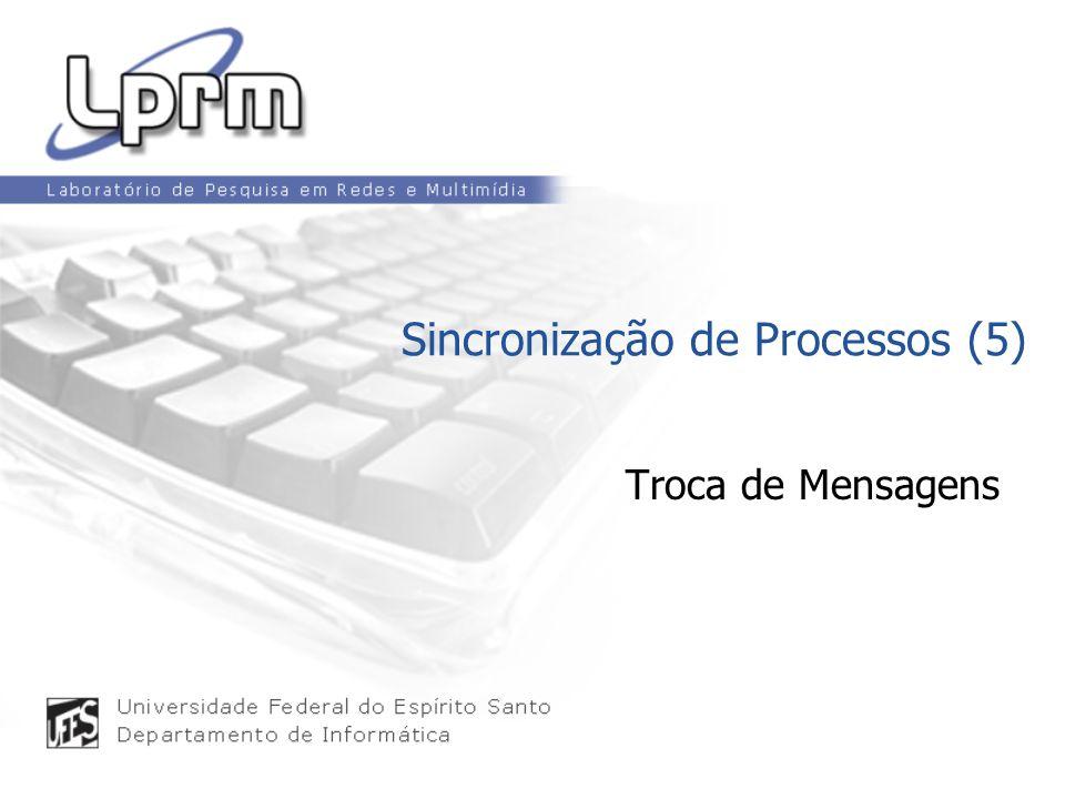 Troca de Mensagens Sincronização de Processos (5)