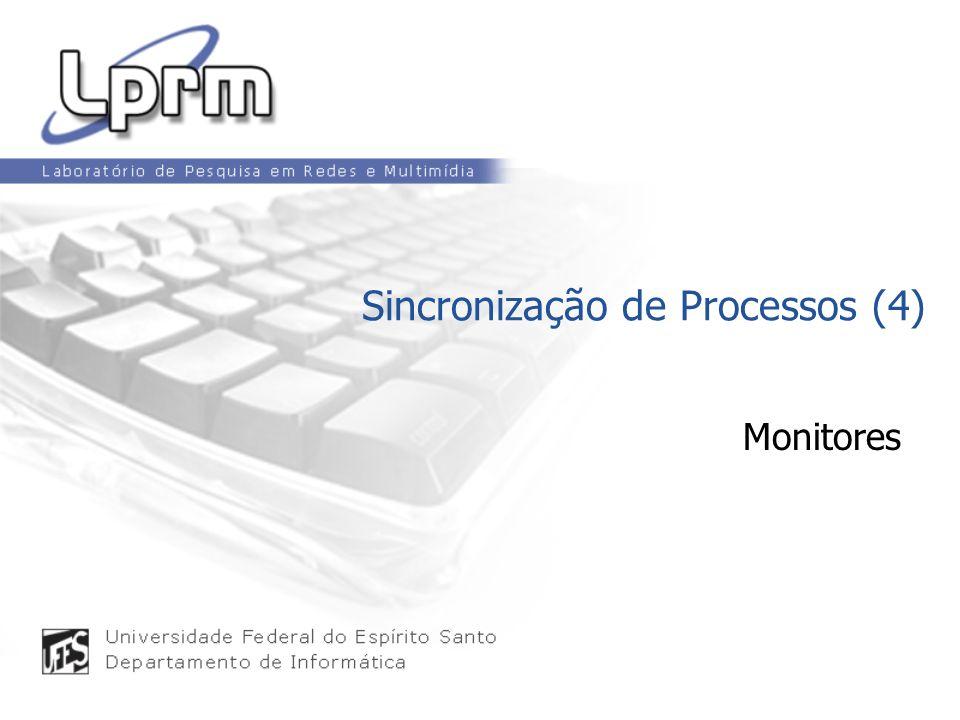 Monitores Sincronização de Processos (4)