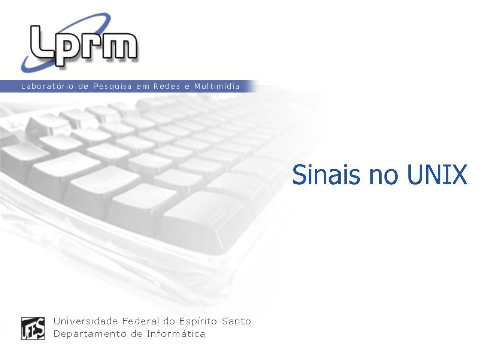 Sinais no UNIX