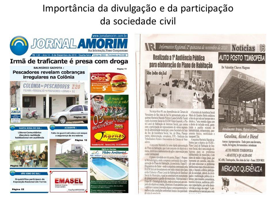 ETAPA II – DIAGNÓSTICO DO SETOR HABITACIONAL Trabalho de campo – Arquitetas Urbanistas (fotos, mapas cartográficos); Pesquisa; Oficinas; Reunião com as Comissões das Prefeituras; Audiência Pública;