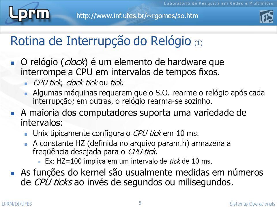 http://www.inf.ufes.br/~rgomes/so.htm Sistemas Operacionais LPRM/DI/UFES 26 p_usrprip_cpup_usrprip_cpup_usrprip_cpu 500 1...
