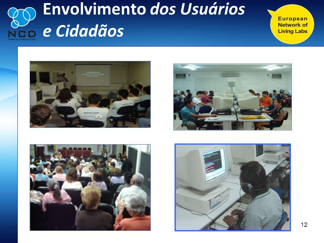 12 Envolvimento dos Usuários e Cidadãos